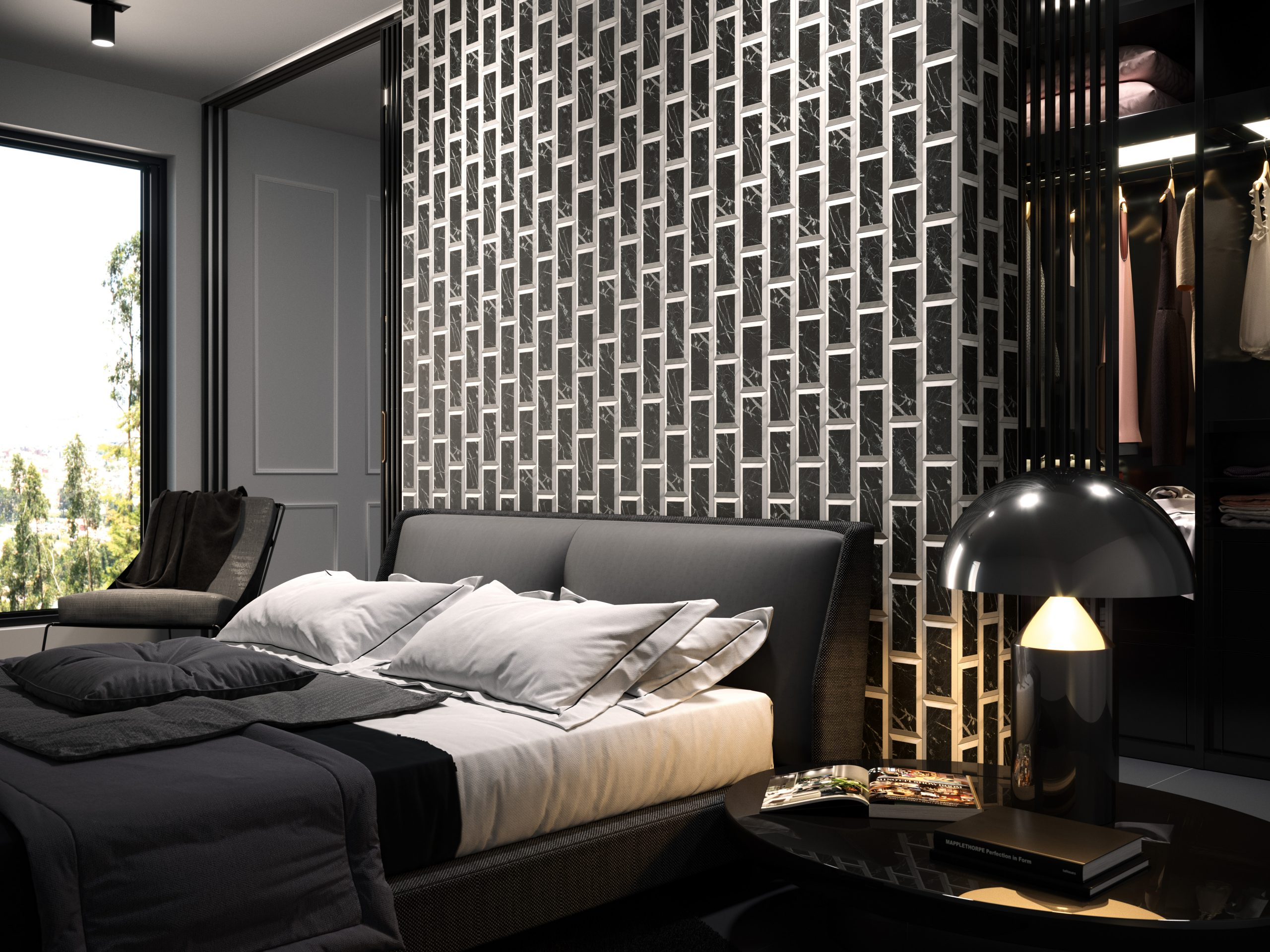 Museum Black Marble Carrara Subway Accent Wall Miami Trendy Inspo Commercial Associates Tile Manufacturing